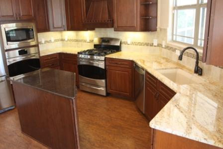 Colonial Gold Granite With Maple Cabinets Memsaheb Net